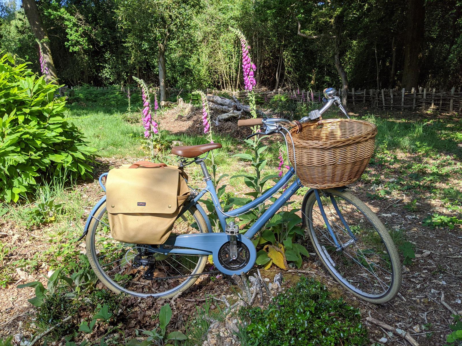 Les aventures de ma bicyclette bleue